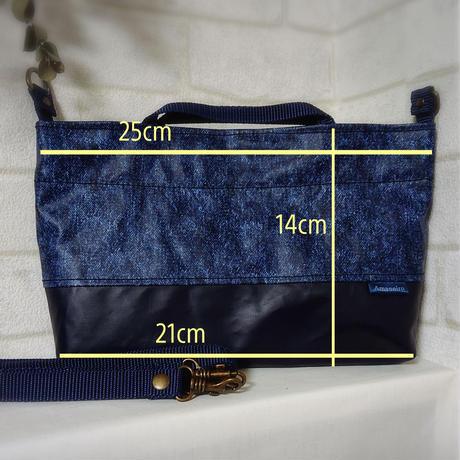 エピペンポーチが入る3層ポシェットバッグ