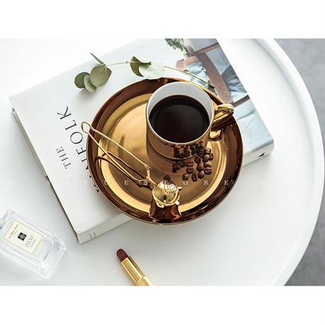 Metallic コーヒーカップ《GOLD/SILVER》