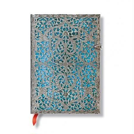 Paperblanks ノートBook 《Silver Filigree ミディ》