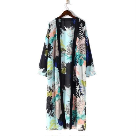 Froral Kimonoカーディガン