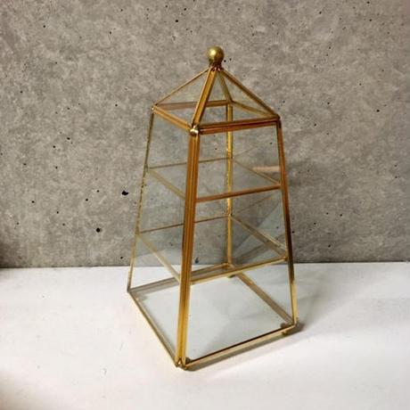 Pyramidブラスジュエリーチェスト