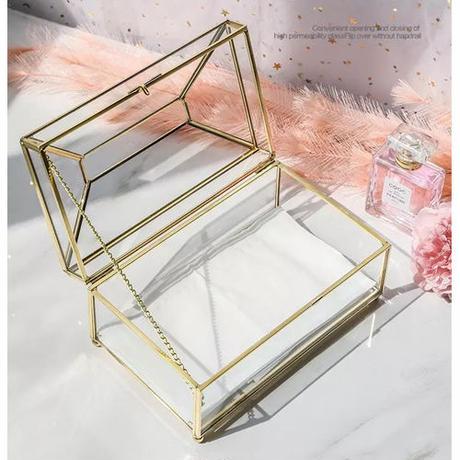 Brass Glassティッシュボックス《MIRROR/GLASS》