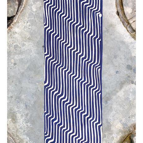 Modern Stripes Tenugui (hand towel) -Dark Blue