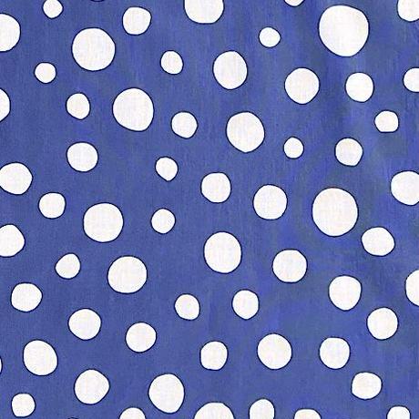Polka Dots Tenugui (hand towel) -Light Blue