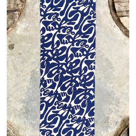 Arigatou (Thank You) Tenugui (hand towel) -Dark Blue