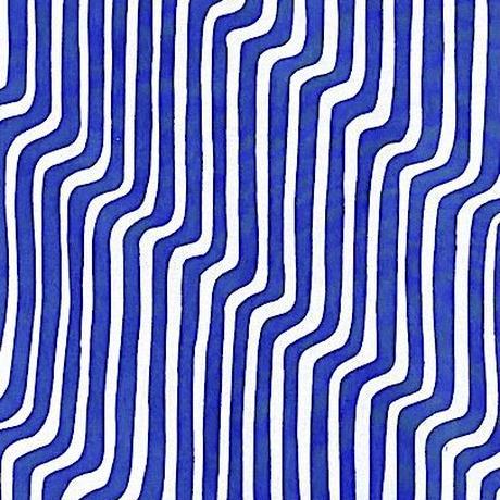 Modern Stripes Tenugui (hand towel) -Light Blue