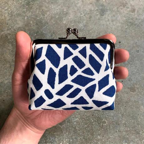 Indigo Gamaguchi (coin purse) -Giraffe-