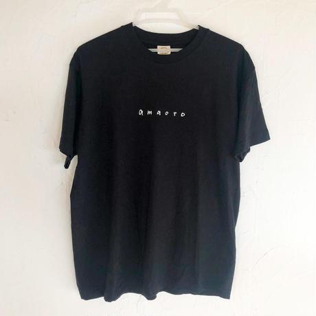 amaoto Tシャツ(ブラック)