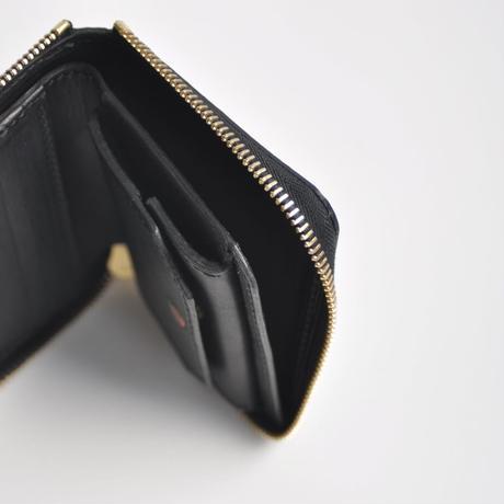 GUIDI ラウンドZip折財布S