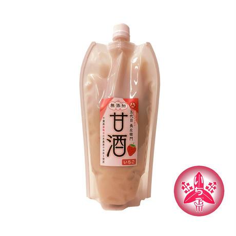 無添加甘酒(いちご) 500ml