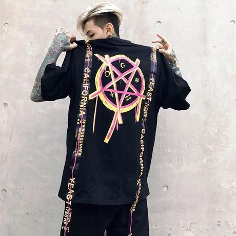 魔法陣デザインTシャツ【MM00257】