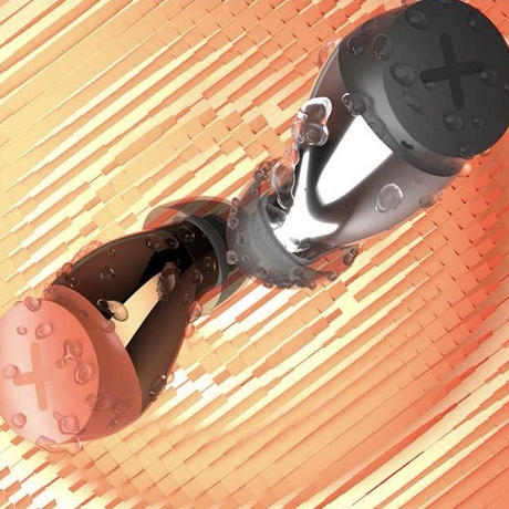 """【支援者募集中】【IPX5防水】【シンプルプラン】近未来デザイン高音質ワイヤレスイヤホン""""SONG X""""『1年間製品保証』"""