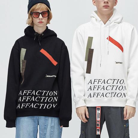 【NEW】AFFACTIONデザインフーディー 2カラー