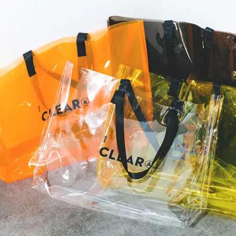 【数量限定】クリアデザインハンドバッグ 4カラー