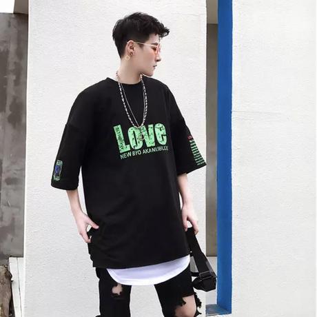 LOVEオーバーサイズTシャツ【S00119】