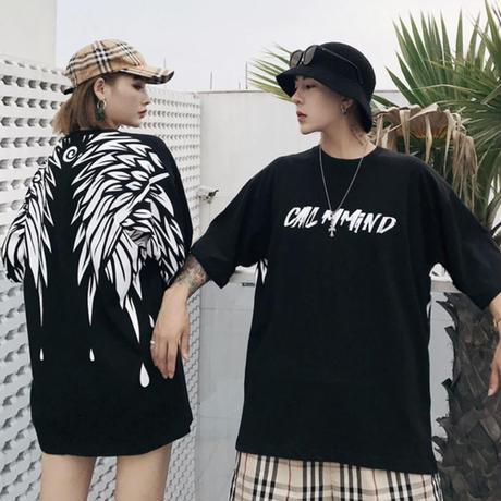 ウィングデザインTシャツ【MM00230】