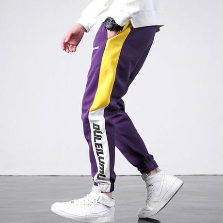 【11/11限定販売】DULデザインジョガーパンツ 2カラー