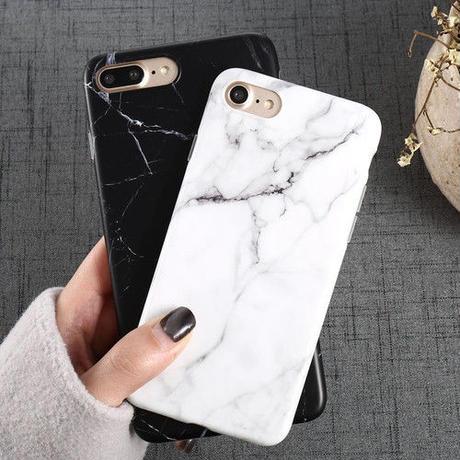 [NEW]大理石デザインI phoneケース全機種対応 2カラー
