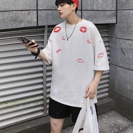 KissオーバーサイズTシャツ【PR00027】