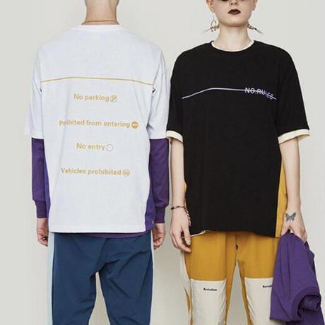 NO RULESデザインTシャツ【MM00254】