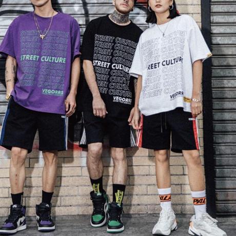 STREET CULデザインTシャツ【MM00235】