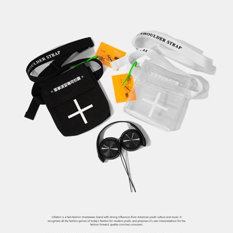 【売り切れ間近】クロスデザインミニバック 2カラー