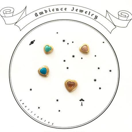 Open your heart Pierce / sky blue Tourqouise