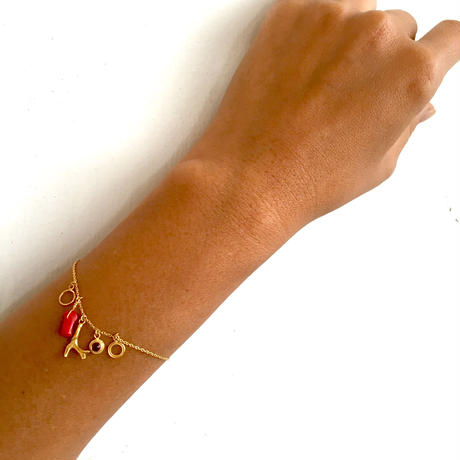 Red coral Bracelate