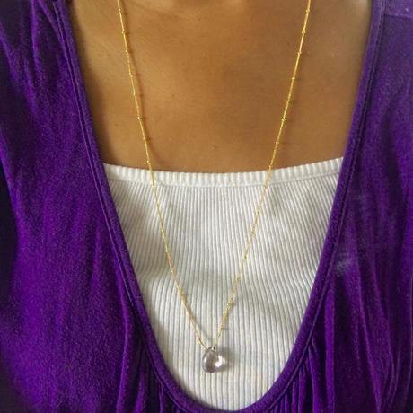 Ametrine necklace / ball chain