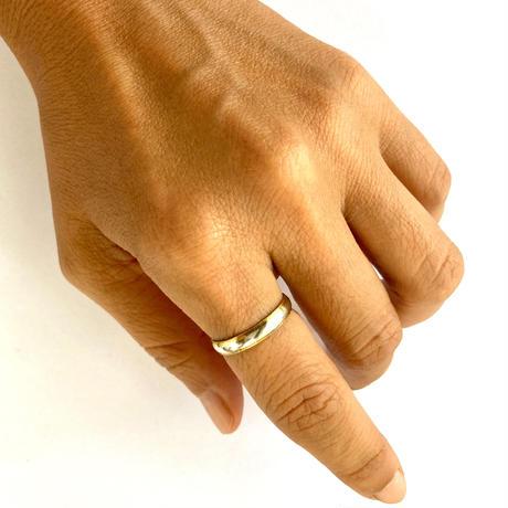Circle & Twist Ring / White gold