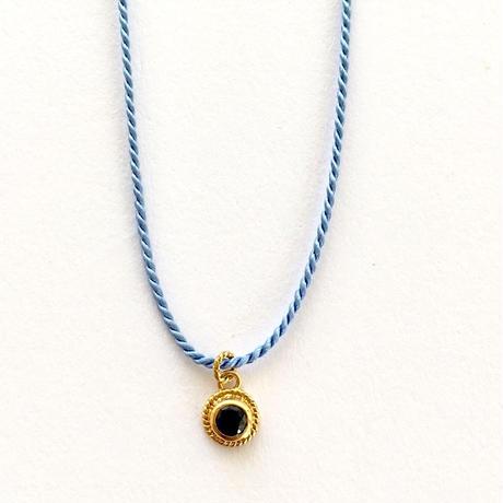 2Way silkcode  bracelate & anklate/ Blue sapphire