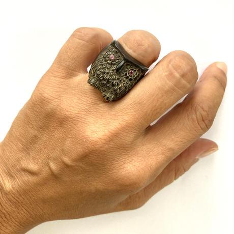 Burung Hantu / owl Ring