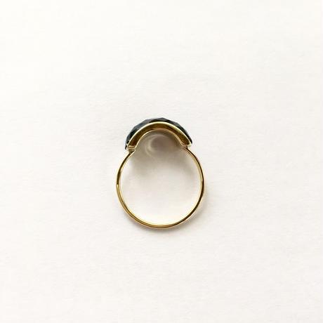 Arch Ring / Black onyx