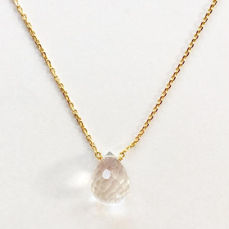 1stone necklace / crystal