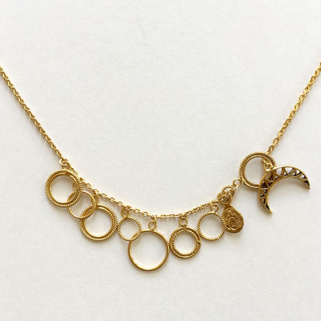 Orbit necklace / just gold