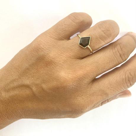 Volcom ring / Garnet