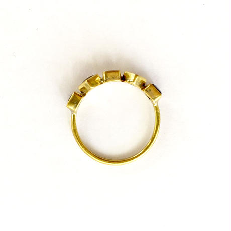 Life goes on Ring /  Citrine