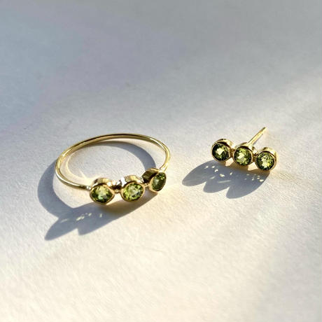 3stone Ring / Peridot