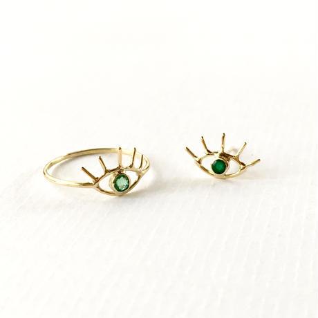 Open your eye pierce / Emerald