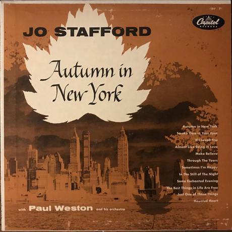 Jo Stafford/Autum In New York (Capitol T197)MONO オリジナル盤