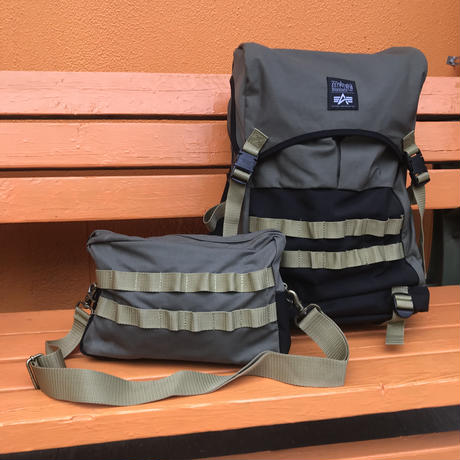 MOLLE BACKPACK  -ALPHA INDUSTRIES x MANHATTANPORTAGE-