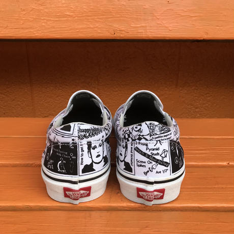 "Classic Slip-On ""Ashley Williams""-VANS CLASSIC LINE-"