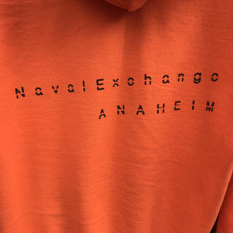 ANCHOR FORCE PULL OVER SWEAT PARKA -ANAHEIM BASE-  / ANEX ORIGINALS