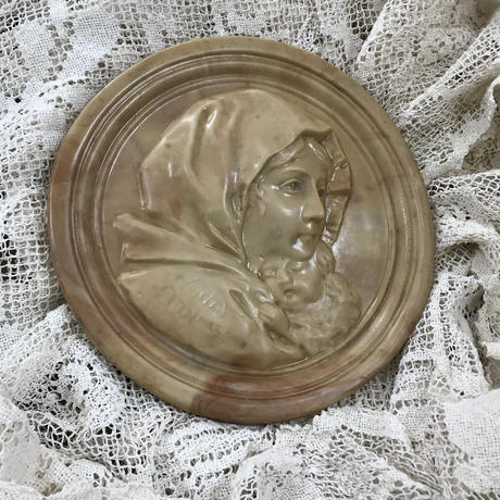陶器 マリアプレート