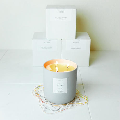 SCENTED CANDLE   ACCORD accord