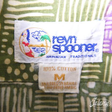 90年代 レインスプーナー/reyn spooner アロハシャツ Mサイズ(A-227)