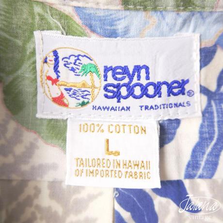 90年代 レインスプーナー/reyn spooner アロハシャツ Lサイズ(A-261)