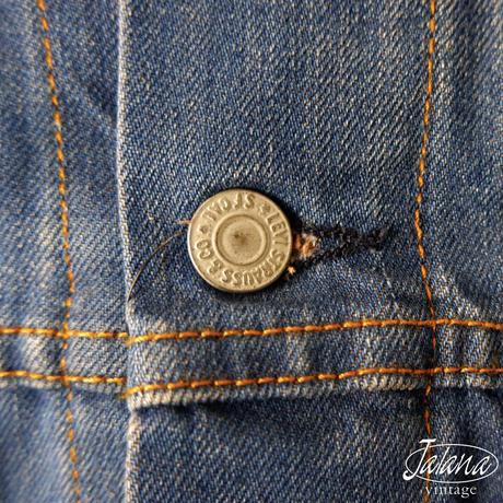 リーバイス/LEVI'S デニムジャケット Sサイズ(J-006)