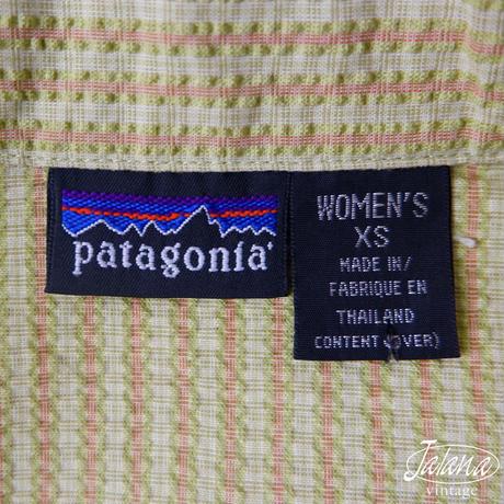 パタゴニア/patagonia アロハシャツWOMEN'S XSサイズ(A-090)