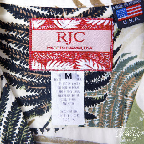 RJC アロハシャツ Mサイズ(A-152)
